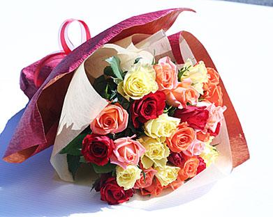 バラの花束 MIX 30本
